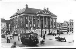 Groningen - Stadhuis (animatie Tram Tramway Trolley, Echte Fotografie) - Groningen