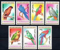 Mongolie Mongolia 1780/86 Perroquets - Parrots