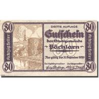 Billet, Autriche, Pöchlarn, 80 Heller, Château 1920-12-31, SPL Mehl:FS 755III - Austria