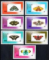 Mongolie Mongolia 1787/93 Papillons - Butterflies