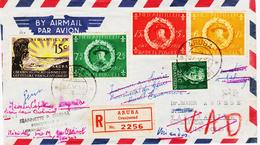 Antilles Hollandaises,  D'ARUBA  En 1957, BADEN POWELL 50 Ans  Scoutisme  TB - Antilles
