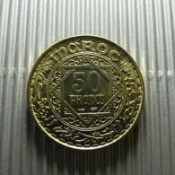 Morocco 50 Francs 1371 - Morocco