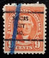 USA Scott #641, Precancel Kansas City, Missouri, 1927 - Estados Unidos