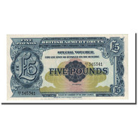 Billet, Grande-Bretagne, 5 Pounds, Undated (1958), KM:M23, NEUF - Forze Armate Britanniche & Docuementi Speciali