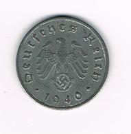 //  THIRD  REICH  1 REICHSPFENNIG  1940 F - [ 4] 1933-1945 : Third Reich