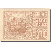 Billet, Autriche, Pöggstall, 10 Heller, Village 1920-12-31, SPL Mehl:FS 756IIa - Austria