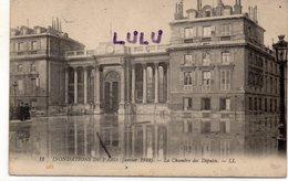 DEPT 75 : Paris 07 : édit.  L L N° 11 : 1910 Inondation : La Chambre Des Députés - Paris (07)