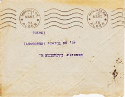 ALGERIE, D'Alger En 1933, Machine Krag En Version Imprimés PP  TB - Algérie (1924-1962)