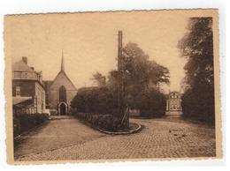 Eigenbrakel Bois-Seigneur-Isaac  Abbaye   La Chapelle Ou Eut Lieu Le Miracle Du S. Sang En 1405 Et Le Château - Eigenbrakel