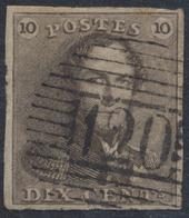 "épaulette - N°1 Bien Margé Obl P120 ""Tournai"" - 1849 Epaulettes"