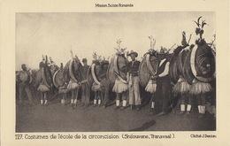 Shilouvane, Transvaal :Costumes De L'école De La Circoncision. Mission Suisse Romande - South Africa