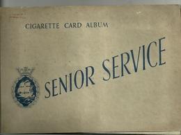 Album Avec Une Série De 48 Chromos Cigarettes. Marques Senior Services, Junion Member, Illigworth's - Other Brands