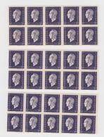 3 X BLOC DE 10. 1945 SERIE DE LONDRES MARIANNE DE DULAC N° 701** LUXE - 1944-45 Marianne Of Dulac
