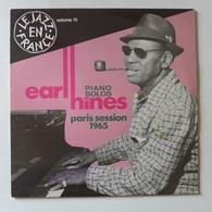 LP/  Earl Hines - Piano Solos Paris Session 1965 - Jazz