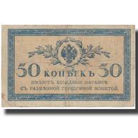 Billet, Russie, 50 Kopeks, Undated (1915), KM:31a, TB+ - Russia