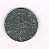 //  THIRD  REICH  1 REICHSPFENNIG  1941 A - [ 4] 1933-1945 : Third Reich