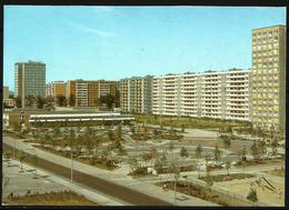 Postcard AK Germany Architecture Magdeburg Festplatz Neustaedter See  Posted 1991 - Magdeburg