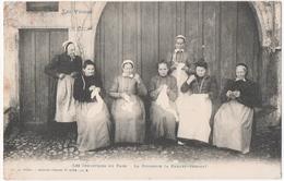 LES VOSGES. LES INDUSTRIES Du PAYS. LA BRODERIE. BRODEUSES à BARBEY-SEROUX (88) - France