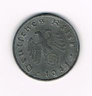 //  THIRD  REICH  1 REICHSPFENNIG  1941 G - [ 4] 1933-1945 : Third Reich