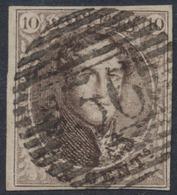 """Médaillon - N°10A Margé Obl P36 """"Dolhain - Limbourg"""". Superbe - 1858-1862 Médaillons (9/12)"""