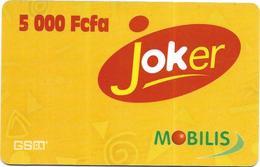 @+ Recharge Mobilis Joker Du Cameroun (5000 FCFA) - Cameroun