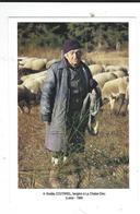43 La Chaise Dieu Amélie Coutarel 1989 Bergère Carte Neuve Photo Marc Billaud Colleection 1001 Travaux De L'homme - La Chaise Dieu