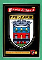 27 Eure Pont De L ' Arche  Ecusson Blason Adhesif Autocollant - Pont-de-l'Arche