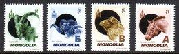 Mongolie Mongolia 2697/700 Cheval , Bouc , Bélier , Chameau - Stamps