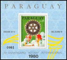 Paraguay - 050 - ** MNH BLOC - ROTARY 1980 - Paraguay