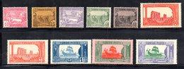 Z1003 - TUNISIA 1923, Serie Yvert N. 100/109  */*  (2380A) Alti Valori Integri - Tunisia (1888-1955)