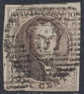 """Médaillon - N°10 Margé P167 """"Néchin"""" / COBA : 20. - 1858-1862 Médaillons (9/12)"""