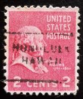 USA Scott #806, Precancel Honolulu, Hawaï, 1938 - United States