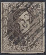 """Médaillon - N°10 Margé Obl P202 """"Fléron"""". TB - 1858-1862 Médaillons (9/12)"""