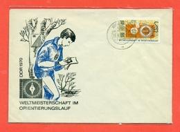 ORIENTAMENTO - DDR - GERMANIA EST - 1970 - Francobolli