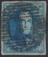 """Médaillon - N°11 Très Bien Margé Obl P1 """"Aerschot"""". Superbe - 1858-1862 Médaillons (9/12)"""