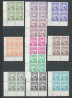 1021B - Lundy Island - Série Oiseaux (bird Birds Oiseau) Puffn Complète Coin De Feuille MNH ** - Collections, Lots & Series
