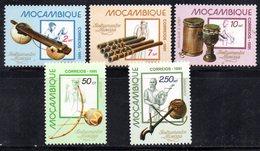 Z876A - MOZAMBICO 1981 , Serie Completa Yvert N. 796/800  ***  MNH  (2380A)  Musica - Mozambico