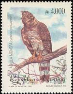 Argentine. Argentina 1991.  Harpie Huppée. Crested Eagle - Eagles & Birds Of Prey