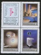 MACEDONIA 1992 ANTI CANCER MNH - Macedonië