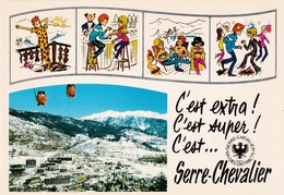 05 Chantemerle-Serre -Chevalier Humoristique - Serre Chevalier