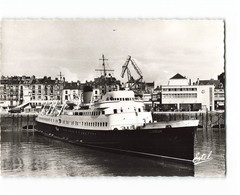 76 Dieppe Le Lisieux Et La Gare Maritime Bateau Paquebot CPSM GF Edit Estel N°5173 Photo - Dieppe