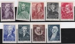 Belgie    .  OBP    .    661/669      .     **     .     Postfris   .   /   .  Neuf SANS Charniere - Unused Stamps