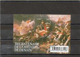 FRANCE    Feuille De 1 Timbre 0,77 €    2012     Y&T :F4660   Tricentenaire De La Bataille De Denain  Oblitéré - Sheetlets