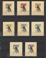 ++ 1965 Hunting Birds 10 Kop Nominal In Different Colour Thick Paper Colour Proof - Essais & Réimpressions