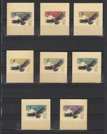 ++ 1965 Hunting Birds 12 Kop Nominal In Different Colour Thick Paper Colour Proof - Essais & Réimpressions