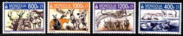 Mongolie Mongolia 2918/21 Faune, Dauphin, Ours, Panthère, Koala - Stamps