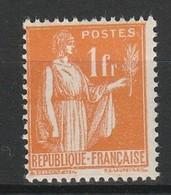 FRANCE TYPE PAIX 1932-33 YT N° 286 ** (Type II) - 1932-39 Peace