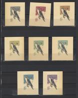 ++ 1965 Hunting Birds 16 Kop Nominal In Different Colour Thick Paper Colour Proof - Essais & Réimpressions