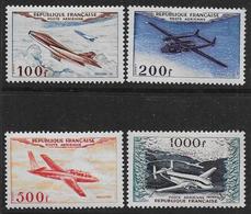 FRANCE Poste Aérienne 1954 - YT N° 30 à 33 - Timbres Neufs Sans Charnière - Poste Aérienne