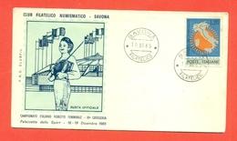 SCHERMA - CAMPIONATO ITALIANO FIORETTO FEMMINILE- SAVONA 1965 - Scherma